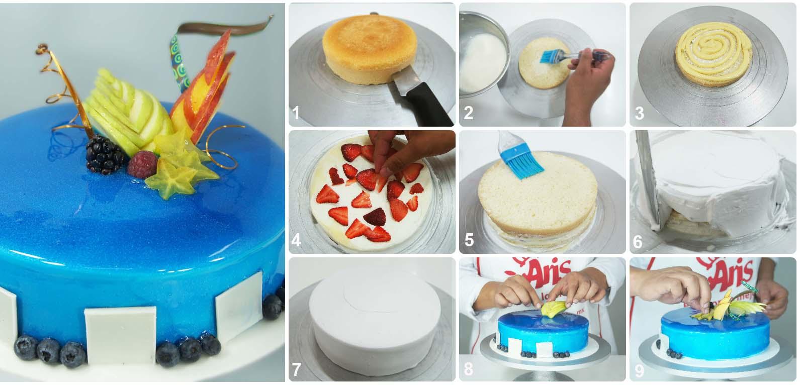 Paso A Paso Blueberry Cake Industrias Alimenticias Aris